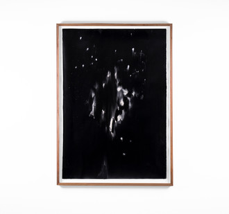 Alexandra Karakashian   Undying XXXVIII   2018   Oil on Sized Paper   99 x 70 cm