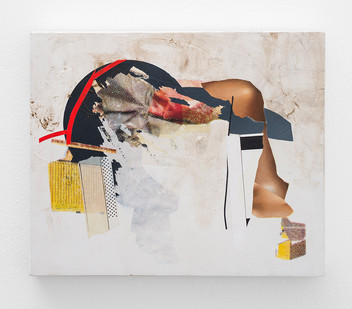 Asha Zero | indice duplicate | 2018 | Acrylic on Board | 36 x 42 cm
