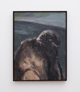 Johann Louw | Kees Introspektief | 2017 | Oil on Panel | 80 x 61 cm