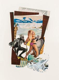 Kate Gottgens   Nordic noir   2020   Collage on Paper   77 x 57 cm