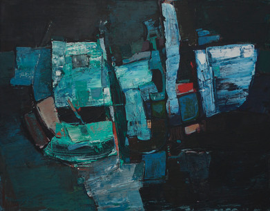 Dirk Meerkotter | Untitled | 1960 | Oil on Canvas | 71 x 91.5 cm