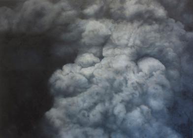Jake Aikman   N11.442003, W85.507305   2013   Oil on Canvas   150 x 210 cm