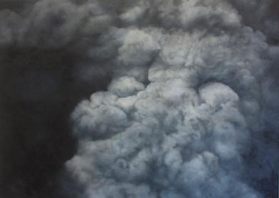 Jake Aikman | N11.442003, W85.507305 | 2013 | Oil on Canvas | 150 x 210 cm