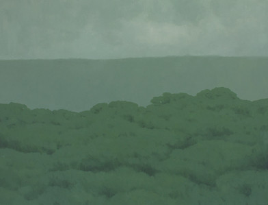 Jake Aikman   N11.091155, W85.70212   2013   Oil on Canvas   95 x 125 cm