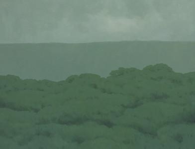 Jake Aikman | N11.091155, W85.70212 | 2013 | Oil on Canvas | 95 x 125 cm