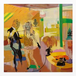 Kate Gottgens | The Collector | 2020 | Oil on Canvas | 171 x 171 cm