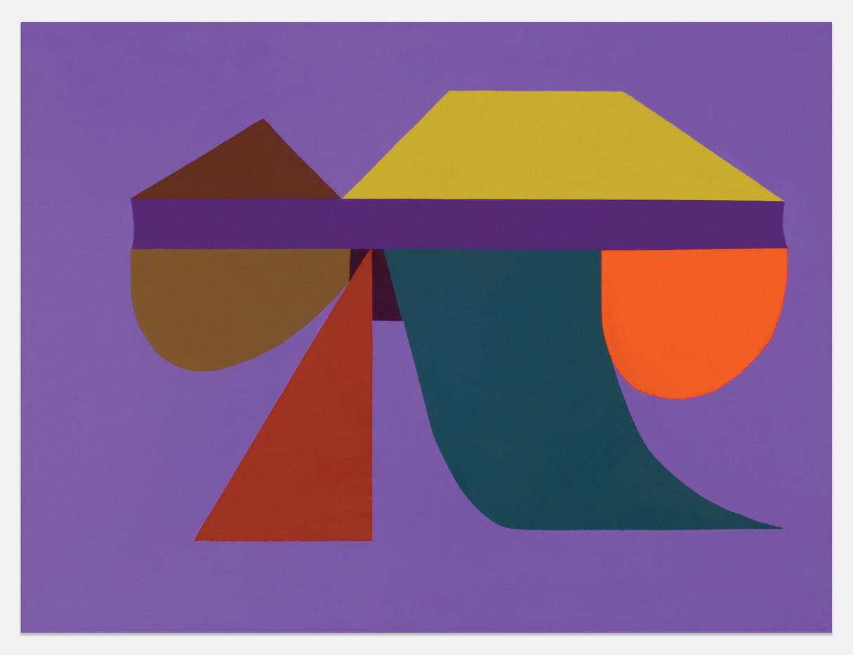 Trevor Coleman | Mine Dump | 1972 | Acrylic on Canvas | 75 x 100 cm