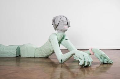 Marlene Steyn | sphinxy minx (Side View) | 2019 | Polyurethane Resin | 90 x 190 x 370 cm