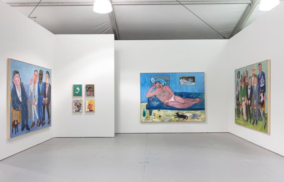 Georgina Gratrix | Untitled, Art | 2018 | Installation View