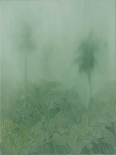 Jake Aikman | N13.211203, W88.438965 | 2013 | Oil on Canvas | 30.5 x 23 cm