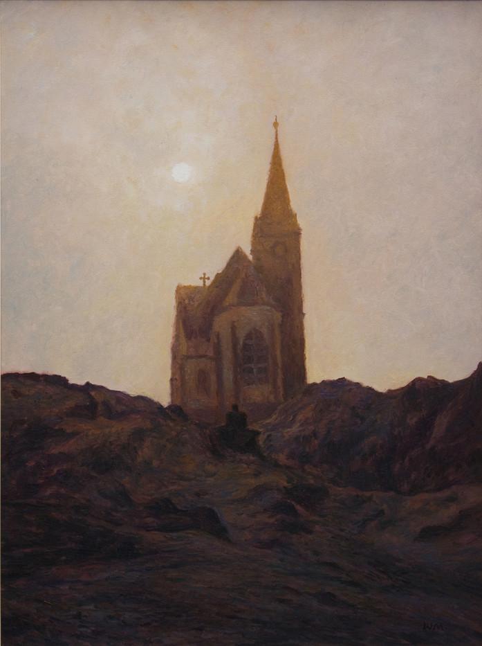 Walter Meyer   Felsenkirche   2002   Oil on Canvas   80 x 60 cm