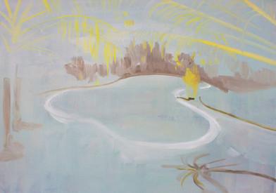 Kate Gottgens | Pool | 2013 | Oil on Canvas | 62 x 84 cm