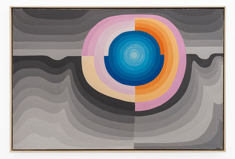 Cecily Sash   Untitled   1966   Oil on Canvas   61.5 x 91.5 cm