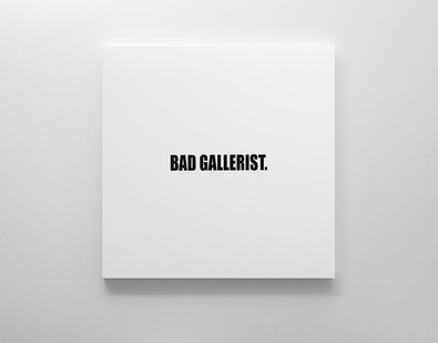 Ed Young | Bad Gallerist | 2017 | Oil on Canvas | 100 x 100 cm
