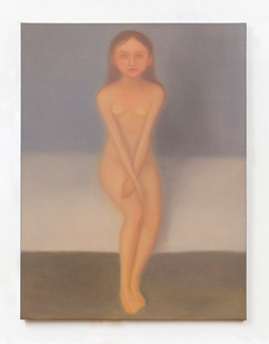 Chechu Álava | Confinement (after Munch) | 2020 | Oil on Canvas | 41 x 33 cm