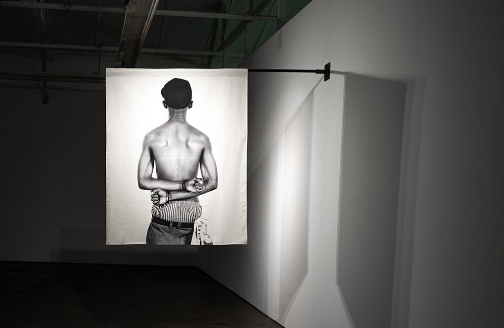 Musa N. Nxumalo | Story of O.J., After 4:44 (Simiato Matik) | 2020 | Archival Pigment Print on Hemp Linen | 160 x 130 cm | Edition of 3 + 2 AP