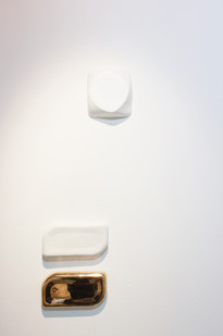 Helen A. Pritchard   Untitled - Ex 1, 2, 3   2013   Bronze and Paint   Sizes Variable