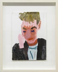 Georgina Gratrix | Tony Reading | 2017 | Watercolour on Paper | 29 x 21 cm