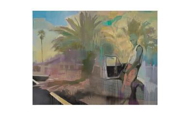 Kate Gottgens | Blue Dream | 2017 | Oil on Canvas | 150 x 200 cm