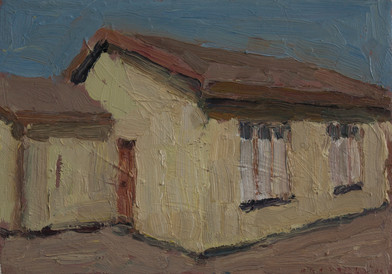 Anton Karstel | Property (Danville) | 2014 | Oil on Canvas | 22 x 31 cm