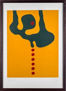 Wopko Jensma | Untitled | 1974 | Serigraph | 70 x 50 cm