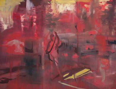 Kate Gottgens | Red Landscape | 2014 | Oil on Canvas | 115 x 150 cm