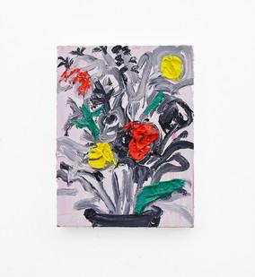 Georgina Gratrix | Arrangement | 2018 | Oil on Canvas | 40 x 30 cm