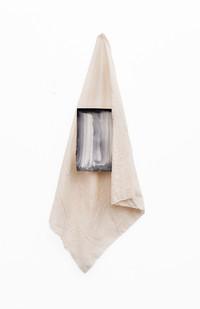 Alexandra Karakashian | Yashmak IX | 2020 | Oil on Paper and Cloth | Dimensions Variable