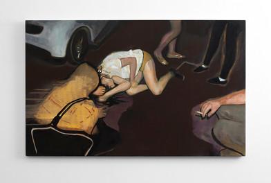 Kate Gottgens | 20 Minutes of Action | 2016 | Oil on Canvas | 80 x 130 cm