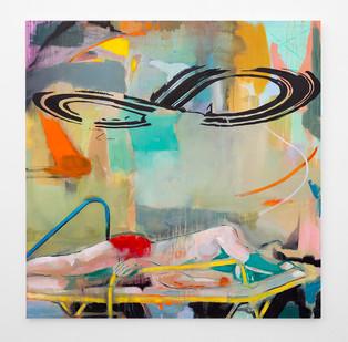 Kate Gottgens | Pieces of Eight | 2018 | Oil on Canvas | 150 x 150 cm