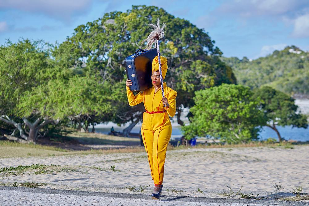 Lhola Amira | Abadala banginika impisi/os anciãos me deram lobo | 2019 | Epson Hot Press Natural Giclée Mounted Diasec | Sizes Variable | Edition of 3 + 2 AP
