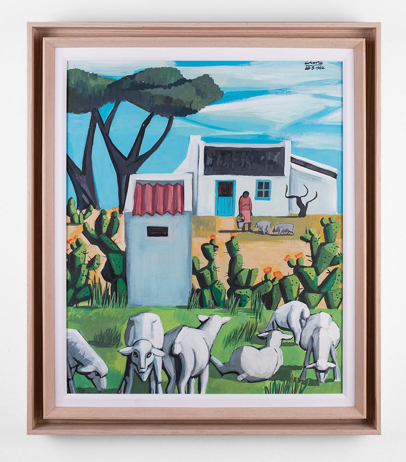 Peter Clarke | Untitled | 1962 | Gouache on Paper | 50.5 x 42 cm