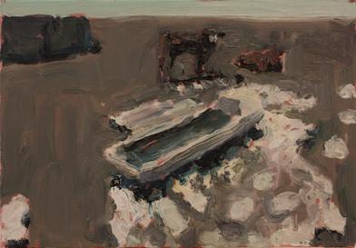 Anton Karstel | Property (Perdeberg) | 2014 | Oil on Canvas | 29.5 x 42 cm