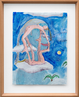 Marlene Steyn   Her day dream hers   2018   Oil on Canvas   30 x 23 cm