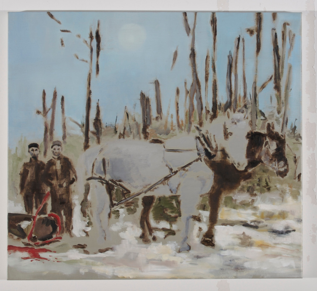 Uwe Wittwer   Forest Piece   2008   Oil on Canvas   50.5 x 55.5 cm