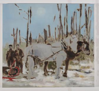 Uwe Wittwer | Forest Piece | 2008 | Oil on Canvas | 50.5 x 55.5 cm