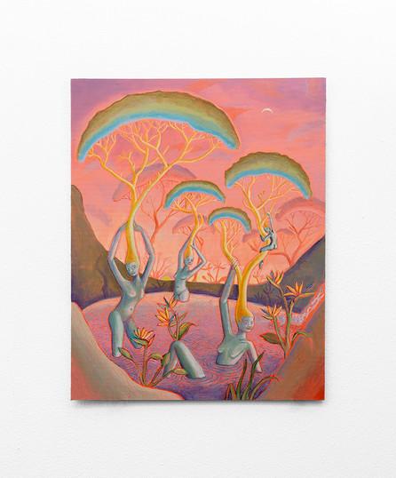 Marlene Steyn   beyond the yond   2020   Oil on Canvas   45 x 35 cm