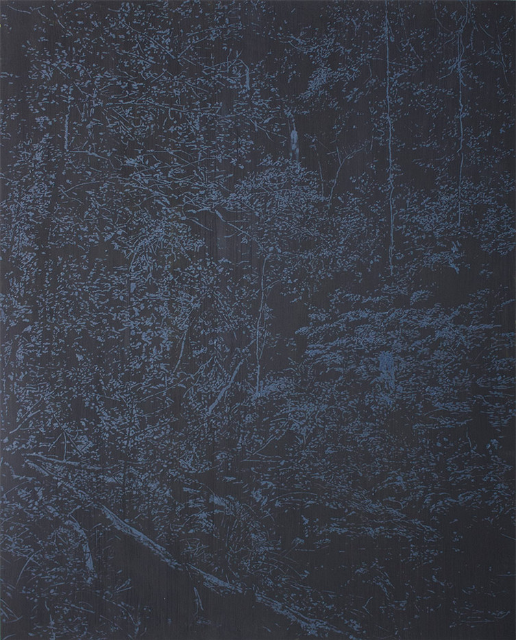 Peter Eastman | Deep Chine - Dark Light | 2015 | Oil on Aluminium | 143 x 115 cm