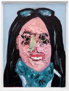 Gerogina Gratrix | Liza | 2019 | Oil on Canvas | 65 x 49.5 cm