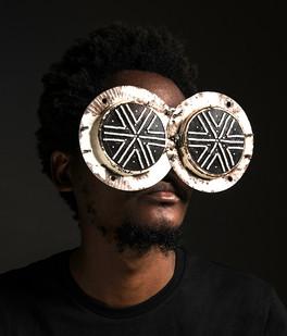 Cyrus Kabiru | White Mask | 2017 | C-type Print on Diasec Mount | 70 x 60 cm