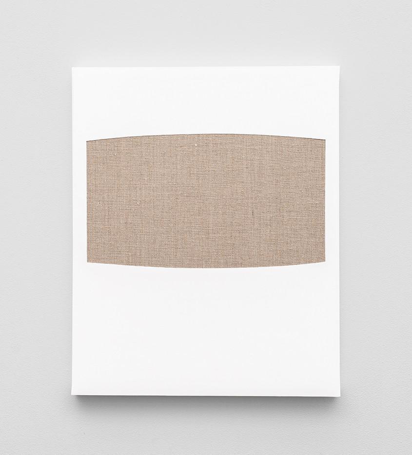 Pierre Vermeulen | Gesso Space nr 5 | 2020 | Gesso on Belgian Linen | 50 x 40 cm