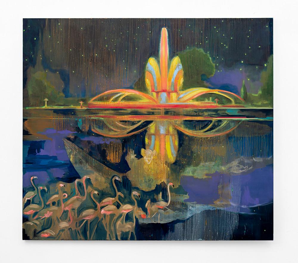 Kate Gottgens | Fantastic Grow the Evening Gowns | 2020 | Oil on Canvas | 187 x 213 cm