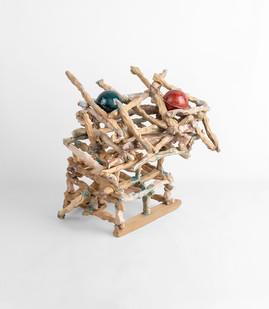 Jeanne Hoffman | Resisting Change | 2020 | Stoneware | 31 x 27 x 26 cm