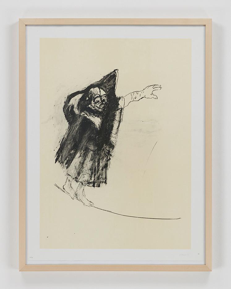 Albert Adams | Circus II | 2006 | Lithograph | 83 x 63 cm