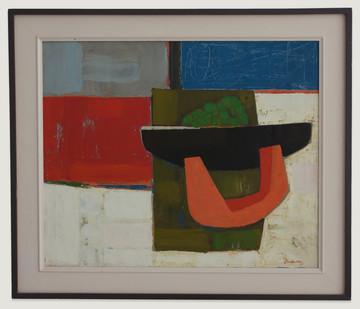 Erik Laubscher | Still Life with Pumpkin | 1965 | Oil on Canvas | 57.5 x 69.2 cm
