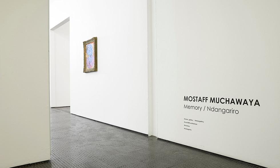 Mostaff Muchawaya | Memory/Ndangariro | 2017 | Installation View