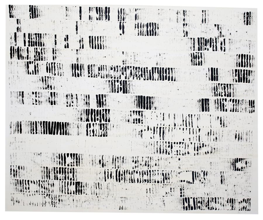 Usha Seejarim | Diurnal | 2016 | Ink on Paper | 142 x 166.5 cm