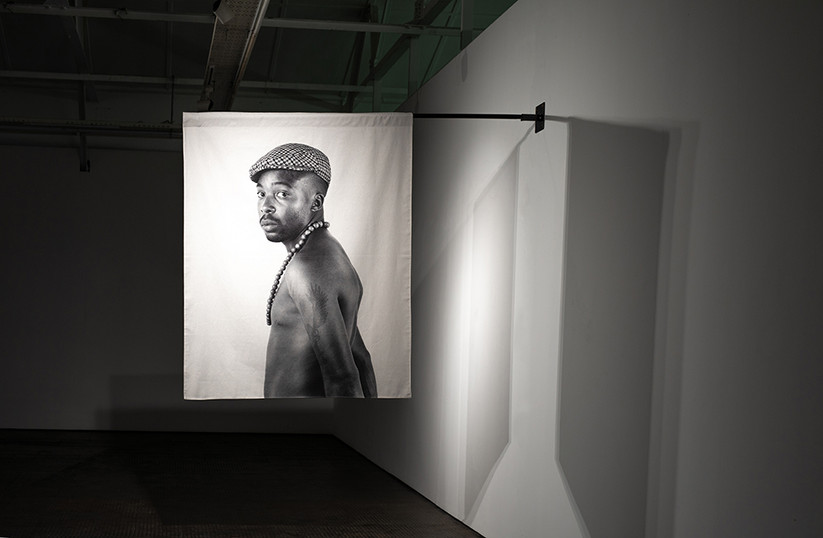 Musa N. Nxumalo | Story of O.J., After 4:44 (Doctor Moyo II) | 2020 | Archival Pigment Print on Hemp Linen | 160 x 130 cm | Edition of 3 + 2 AP