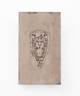 Usha Seejarim | Pressed 03 | 2021 | Cement | 50 x 29 x 2.5 cm