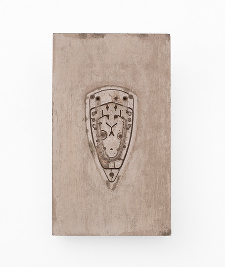 Usha Seejarim   Pressed 03   2021   Cement   50 x 29 x 2.5 cm